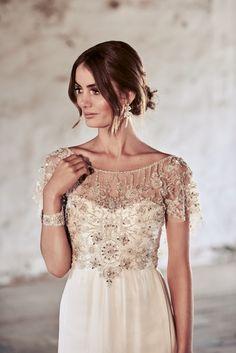 Anna Campbell Adele Dress A-Line Wedding Dress Vintage Inspired Wedding Dresses, Custom Wedding Dress, Wedding Dresses 2018, Dress Wedding, Robes Country, Country Dresses, Elegant Bride, Elegant Wedding Dress, Lace Wedding