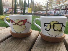 Mr and Mrs Bird Çay #fincanseti -Nurbanu Başaran