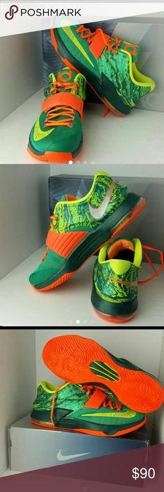 1c35de516cd NIKE KD 7 VII WEATHERMAN MEN S SHOES LIKE NEW COME WITH NIKE KD BOX SKE    DD3 NIKE Shoes Athletic Shoes