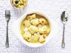 Kitchenette - Losos s křupavým květákem zapékaný v sýrovém bešamelu
