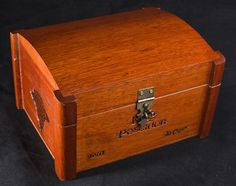 Magic The Gathering Wooden Deck Box - Sea Chest