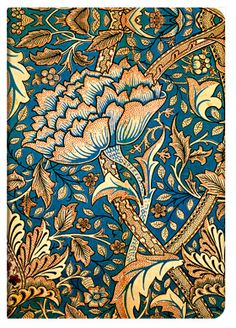 William Morris design diary.