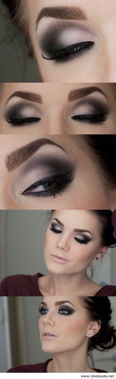 Gorgeous smokey eye
