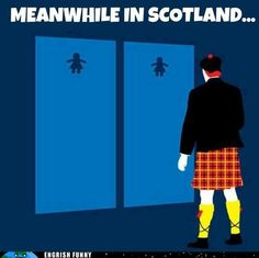 Meanwhile in Scotland ...