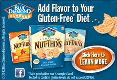 Blue Diamond gluten free Crackers