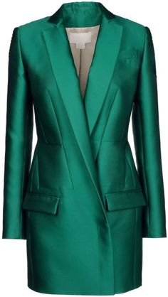 ANTONIO BERARDI Green Blazer   The House of Beccaria# too long to be short and too short to be long but just for the color.