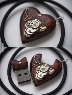 Awesome Usb Drive // Steampunk style