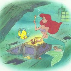 The Little Mermaid Little Golden Book