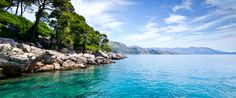 Looking back towards the Croatian mainland from Lokrum Island. Photo credit Stu.