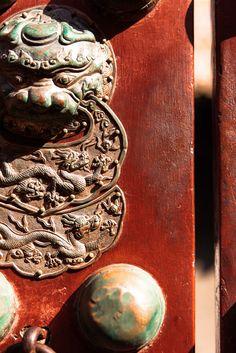紫禁城 the Forbidden City Traditional Chinese, Chinese Style, Chinese Element, Asian Architecture, Fu Dog, Chinese Furniture, Fire Nation, China Art, Ancient China