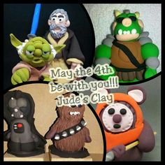May the 4th be with you!!! Starwars clay