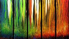 Abstract Painting - 2-D Art @ St. Francis High