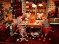 Interior La casa de los ratones 4