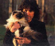 Ritchie Blackmore & cat