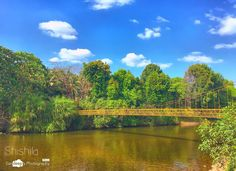Shishila #shishila #hangingbridge #bridge #steel #river #water #nature #sky #schooltrip #clouds #mobilephotography #deepstudio www.deep.studio