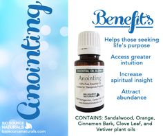 Anointing Essential Oil Blend helps those who are seeking their life purpose. Shop affordable and therapeutic essential oils and blends with BioSource Naturals! #aromatherapy