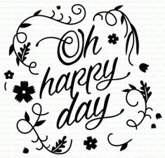 Paper Clippings: Happy Day Stamp Set