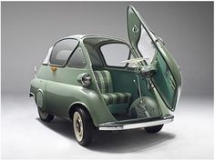 BMW Isetta (1955). ... too cute!
