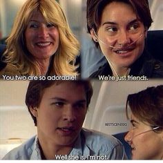"Tfios ""She is. I'm not."" ~Augustus Waters"