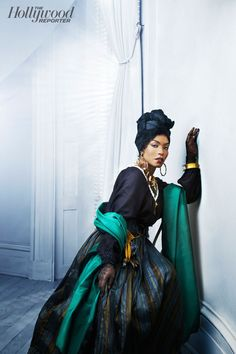 Angela Bassett - she was fantastic and as beautiful is American Horror Story: Coven.