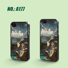 iPhone 4 Case iPhone 4S Case, iPhone 5 Case, Peter Pan, Plastic Phone Cases, Case for iphone, Please Choose Case Model-A177