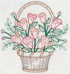 Marvelous Crewel Embroidery Long Short Soft Shading In Colors Ideas. Enchanting Crewel Embroidery Long Short Soft Shading In Colors Ideas. Embroidery Transfers, Embroidery Needles, Learn Embroidery, Machine Embroidery Patterns, Crewel Embroidery, Vintage Embroidery, Embroidery Kits, Ribbon Embroidery, Floral Embroidery