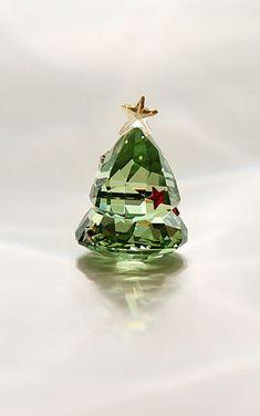 Swarovski Rocking Christmas Tree, Green