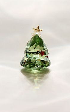 Swarovski Rocking Christmas Tree, Green