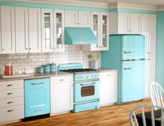 #Retro #kitchen kitchens