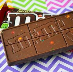 Barretta Cioccolato con M&m's