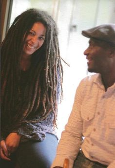 her locs! *repost* I don't want  neat locs all the time, I love this look