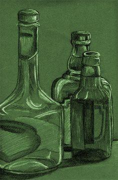 charcoal bottles
