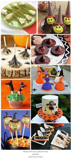 Witches' Party Food Ideas παρτυ μαγισσων ιδεες για μπουφε