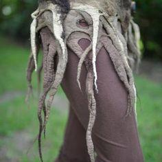 Felt Woodland Nymph Tree Roots by frixiegirl on Etsy