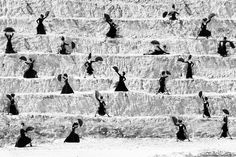 Estudio de Baile Alicia Marquez, Cantera, Outside of Sevilla, Spain, 2007 by Ruven Afanador