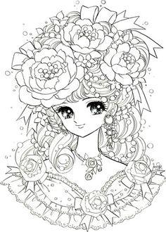 Dream girl Coloring
