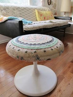 patchwork stool