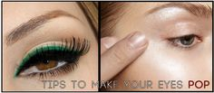 We've got you covered beauties! Our best tips and tricks for making your eyes pop! #eyes #makeup #protips #mua