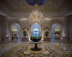 Four Seasons Hotel George V Paris Lobby Reserved Elegance So Very Pretty