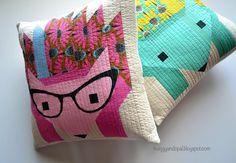 Pillow Talk - Hazel the Hedgehog pillows