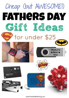 diy network father's day gifts