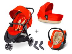 3-in-1 Set Cybex Kombi-Kinderwagen Agis M-Air 3 inklusive Kinderwagenaufsatz M und Aton 4 Babyschale Mit dem Cybex 3-in-1 Set sind Sie bestens ab der Geburt ausgerüstet. Den Cybex Agis M-Air 3 Kombi-Kinderwagen können Sie dank...