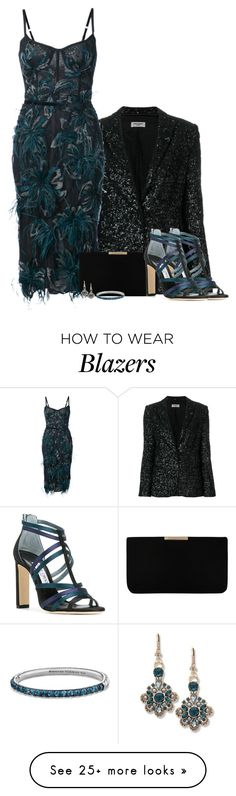 """""""Party Set [002]"""" by myxvonwh on Polyvore featuring Zadig & Voltaire, Notte by Marchesa, L.K.Bennett, Jimmy Choo, Marchesa and David Yurman"""