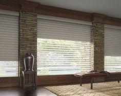 Introducing the NEW Hunter Douglas Silhouette a Deux #windowtreatments #interiordesign #hunterdouglas