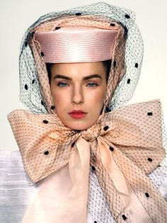 This is cool...The unpredictable and surrealistic world of High Fashion.