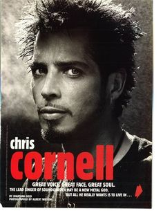 Image detail for -CHRIS CORNELL   Celebrities   Foros Vogue