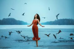 Find Beautiful Young Brunette Woman Flies Birds stock images in HD and millions of other royalty-free stock photos, illustrations and vectors in the Shutterstock collection. Love And Light, Light In The Dark, Love Destiny, Twin Flame Love, Twin Flames, Simply Life, Levitation Photography, Friendship Day Quotes, Brunette Woman
