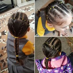 Top 100 cute girl hairstyles photos My own creation...cornrows into rope twists into infinity braid lol #littlegirlhairstyles #cornrows #ropetwist #infinitybraid #cutegirlhairstyles #hair #braids #mummydoesmyhair #schoolphotoday See more http://wumann.com/top-100-cute-girl-hairstyles-photos/