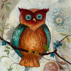 24 in. x 24 in. Owl I