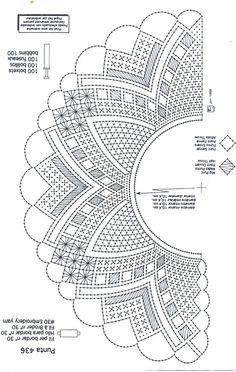 Archivo de álbumes Crochet Tablecloth, Crochet Doilies, Bobbin Lace Patterns, Crochet Patterns, Bobbin Lacemaking, Crochet Collar, Needle Lace, Lace Making, Quilt Blocks